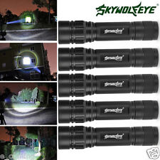 5PCS Super Bright 5000 Lumens 3Modes CREE XML T6 LED 18650 Flashlight Torch Lamp