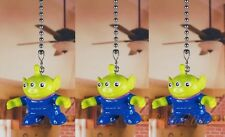 Disney Toy Story Little Green Men Ceiling Fan Pull Light Lamp Chain K1317 Set 3