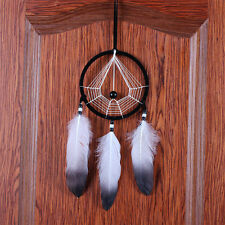 Handmade Dream Catcher With feathers Wall Hanging Decoration Decor Bead Ornament
