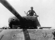 "German Panther Tank Turret German 5""x 7"" World War II Photo 418"