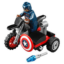 LEGO Marvel Super Heroes Captain America Set 30447 - New Sealed Poly Bag