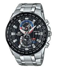 Casio Edifice EFR-550D-1AVUEF Date 100m Chronograph World Time RRP £220.00
