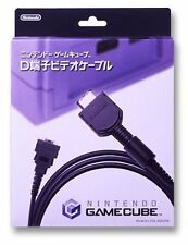 Nintendo GameCube Official terminal D video cable JAPAN