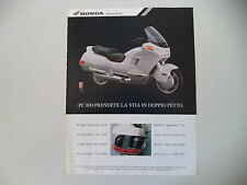 advertising Pubblicità 1991 HONDA PC 800 PACIFIC COAST
