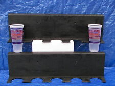 QUIZNOS Cup Wall Holder Display s/2