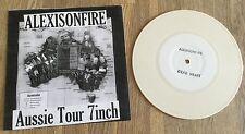 "ALEXISONFIRE - Aussie Tour 7inch 7"" LIMITED WHITE VINYL to 200 CITY AND COLOUR"