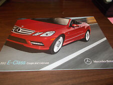 2012 Mercedes-Benz E-Class Coupe & Cabriolet Sales Catalog