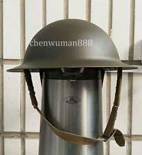 WWII WW2 UK ARMY MK2 BRITISH TOMMY ARMY HELMET