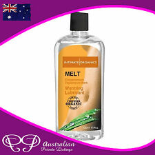 HOT Warming Lubricant - Honey Cinnamon Flavor Heating Sex Lube Massage Oil 120m