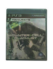 Tom Clancy's Splinter Cell: Blacklist (Sony PlayStation 3, 2013) VERY GOOD