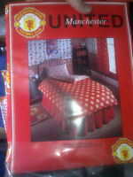MANCHESTER UNITEDs DUVET SET  AT £16 OFFICIAL SET DUVET/PILLOWCASE