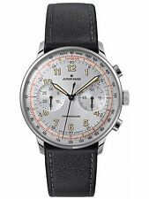 Junghans Meister Telemeter Chronograph Matte-Silver Dial Numerals 027/3380 Auto
