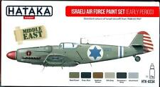 Hataka Hobby Paints ISRAELI AIR FORCE EARLY PERIOD Acrylic Paint Set