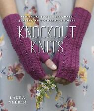 Knockout Knits: New Tricks for Scarves, Hats, Jewelry, and Other Acces-ExLibrary