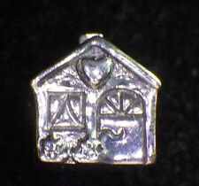 UNBRANDED 925 STERLING SILVER HOUSE HOME SWEET HOME LOVE HEART CHARM BEAD SPACER