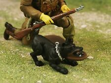 Hood Hounds ROTTWEILER Dog 1:18 GI Joe Size Cake Topper Figure K1285 B4