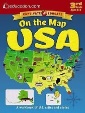 On the Map USA: A workbook of U.S. cities and states