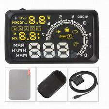 Universal GPS HUD Head Up Display MPH/ KM/h Car Speeding Warning W02