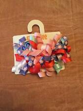 NWT Gymboree Tropical Breeze Curly Loop Ribbon Barrettes 2 pack