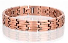 SOLID COPPER LINK MAGNETIC BRACELET health energy stress #LK healing magnet NEW