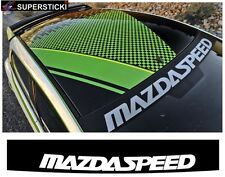 Mazdaspeed + Blendestreifen ca.130 cm Aufkleber Sticker Tuning