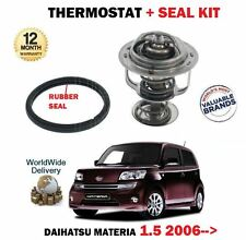 FOR DAIHATSU MATERIA 1.5 3SZ-VE 2006--> THERMOSTAT KIT WITH RUBBER SEAL GASKET