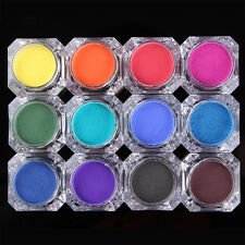 BORN PRETTY Nail Color Changing Thermal Powder Dust Gradient Pigment Manicure