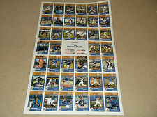 2014 VICTORIA HARBOURCATS WEST COAST LEAGUE BASEBALL AUTOGRAPHED UNCUT SHEET 41