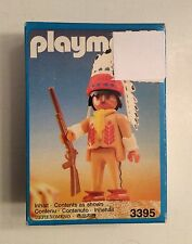 PLAYMOBIL 3395 Indian Chief 1990 New in Box Toy