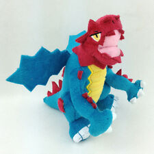 Druddigon Cave Pokemon Dragon Soft Plush Toy Stuffed Animal Blue Figure Doll 6""