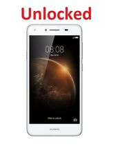 "Unlocked Huawei Y6 Elite 4G+ 5"" White 8MP Quad Core Android 5.1+Screen Protector"