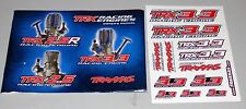 TRAXXAS TRX 3.3 Engine Owners Manual Decal Sheet