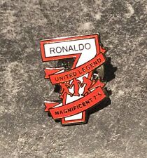 RONALDO FOOTBALL ENAMEL PIN BADGE - THE MAGNIFICENT 7 -  1 OF 5 TO COLLECT