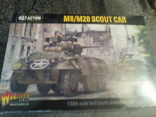 WARLORD GAMES BOLT ACTION U.S. M8 / M20 GREYHOUND ARMOURED CAR - NEW & SEALED