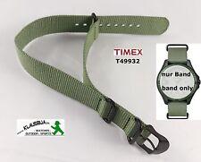 Timex Ersatzarmband T49932 Expedition Camper, Nylon grün - alle Campermodelle