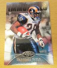 2013 PANINI CERTIFIED #773/999 MARSHALL FAULK ST. LOUIS RAMS SUPER BOWL COLTS