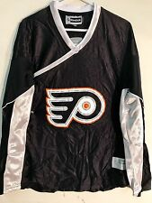 Reebok Women's NHL Jersey PHILADELPHIA Flyers Team Black Fashion sz M