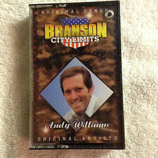 New/Sealed - Branson City Limits - Andy Williams - Cas.Tape -1995 Sony Music  #2