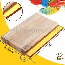 """6"""" Silk Screen Printing Press Squeegee Blade Wood Handle Ink Scraper 75 Hardness"""