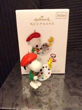 2010 Hallmark Keepsake Ornament Artist Snoopy Spotlight on Snoopy Peanuts #13