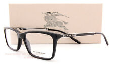 Brand New BURBERRY Eyeglass Frames BE 2126 3001 Black For Men Size 54