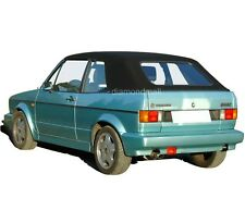 VW Volkswagen Rabbit Cabriolet Golf 1980-1994 Convertible Soft Top Black German
