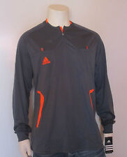 ADIDAS REFEREE JERSEY LONG SLEEVE GREY NEW [SIZE S