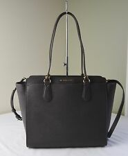 Michael Kors Coffee Brown Saffiano Leather Dee Dee Large Convertible Tote