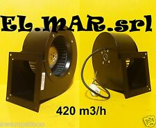 Ventilatore Centrifugo Motore elettrico 120 W Monofase 1750 giri