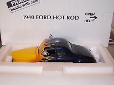Danbury Mint 1:24 1940 Ford Deluxe Coupe Hot Rod     Rod & Custom Series