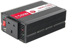 150W  24V to 240V INVERTER   mains power converter 24 volt lorry truck 300 watt