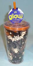 * NEW Cool Gear 18oz Halloween Glow In The Dark Tumbler Glass Drinking Cup