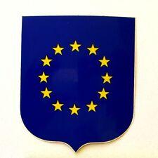 Autocollant DRAPEAU EUROPE  - Sticker collector Année 80/90
