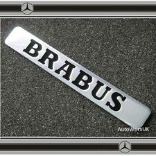 Brabus Badge Emblema Posteriore Back side FENDER MERCEDES SMART C CL CLK SLK S SL CLASSE